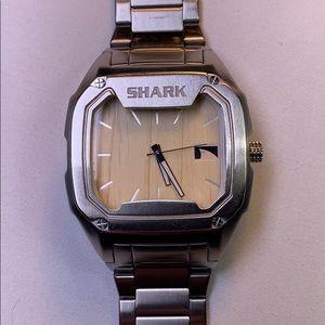 Shark stainless steel watch